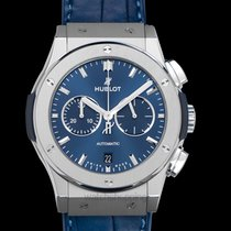 Hublot Classic Fusion Chronograph Titanium 42mm Blue United States of America, California, San Mateo