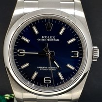 Rolex Chronometer 36mm Automatisch 2018 nieuw Oyster Perpetual (Submodel) Blauw