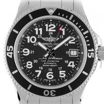 Breitling Steel 42mm Automatic A17365C91B1A1 new