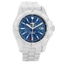 Breitling Colt Automatic pre-owned 41mm Blue Date Steel