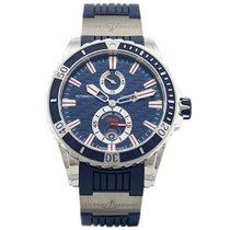 Ulysse Nardin Diver Chronometer Steel 44mm Blue