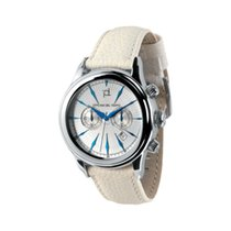 Officina del Tempo Steel Quartz OT1026-33ABW new