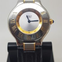 Cartier 21 Must de Cartier Acier 31mm Argent Romain France, LYON - Tassin La Demi Lune