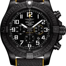 Breitling Steel Automatic Black Arabic numerals 50mm new Avenger Hurricane