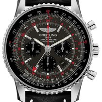 Breitling Navitimer GMT Steel 48mm Grey United States of America, California, Moorpark