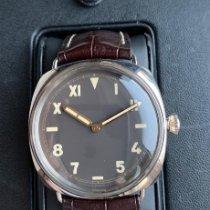 Panerai Ouro branco Corda manual Castanho 47mm usado Special Editions