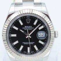 Rolex Datejust II Сталь 41mm Чёрный