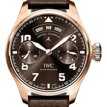 IWC Red gold Automatic Brown new Big Pilot