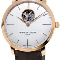 Frederique Constant Slimline Heart Beat Automatic White United States of America, New York, Brooklyn