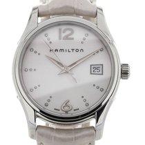 Hamilton Jazzmaster Lady 34 White Diamonds