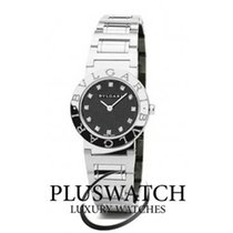 Bulgari Lady Automatic Black Dial with Diamonds 26mm