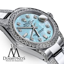 Rolex Lady-Datejust Acero 31mm Azul Sin cifras