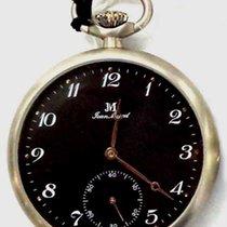 Jean Marcel Reloj nuevo Acero 45mm Árabes Cuerda manual Reloj con estuche y documentos originales