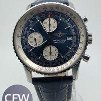 Breitling Old Navitimer Chronograph Blu Dial