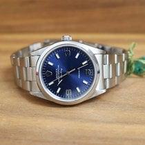 Rolex 14000 Air King Precision  Blue soleil dial