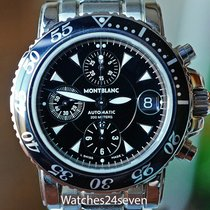 Montblanc Sport Chronograph Auto Date Stainless Steel on Bracelet