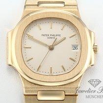 Patek Philippe Nautilus 3800 Automatik Herrenuhr Gold