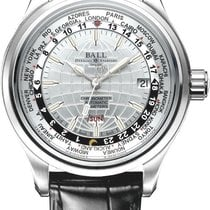 Ball Trainmaster Worldtime Men's Automatic Watch GM2020D-LCJ-WH.