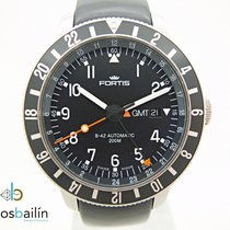 Fortis Steel 42mm Automatic 649.10.148.3 pre-owned