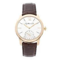 H.Moser & Cie. 38.6mm Manual winding pre-owned Endeavour Silver