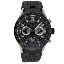 TAG Heuer Connected Titanium 45mm Black No numerals United States of America, Pennsylvania, Bala Cynwyd