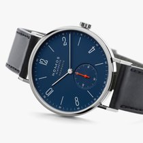 NOMOS Tangente Neomatik Steel 38.5mm Blue Arabic numerals United States of America, New Jersey, Princeton