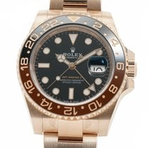 Rolex Rose gold Automatic Black 40mm GMT-Master II