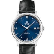 Omega De Ville Prestige Steel 39.5mm Blue Roman numerals United States of America, New York, New York