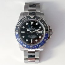 Rolex GMT-Master II Steel 40mm Black No numerals United States of America, Illinois, Chicago