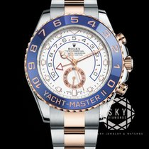 Rolex Yacht-Master II 116681 New Gold/Steel 44mm Automatic
