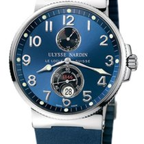 Ulysse Nardin Steel 41mm Automatic 263-66-3/623 new