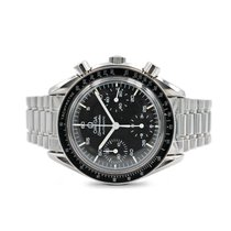 Omega Speedmaster Reduced pre-owned 39mm Black Chronograph Tachymeter Steel