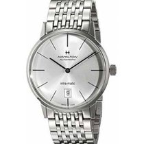 Hamilton Intra-Matic new 2019 Automatic Watch with original box and original papers H38455151