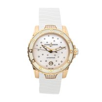 Ulysse Nardin Lady Diver Starry Night Rose gold 40mm White No numerals