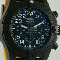 Breitling Automatic Black 45mm pre-owned Avenger Hurricane