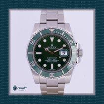 Rolex Submariner Date 116610LV Nuevo Acero 40mm Automático