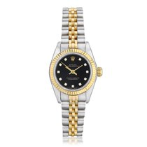 Rolex Oyster Perpetual Steel 26mm Black United States of America, New York, New York