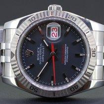 Rolex Datejust Turn-O-Graph Stahl 36mm Schwarz Keine Ziffern Deutschland, München
