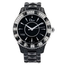 Dior VIII Acier 39mm Noir Romain France, Paris