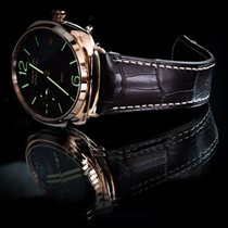 Panerai Radiomir 3 Days GMT nuevo 2015 Cuerda manual Reloj con estuche y documentos originales Panerai 421  3 Days GMT