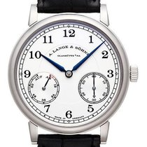 A. Lange & Söhne 1815 White gold 39mm Silver (solid) Arabic numerals