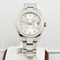 Rolex Lady-Datejust Zeljezo 31mm Srebro Bez brojeva