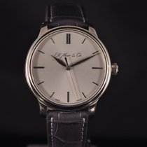 H.Moser & Cie. Or blanc 40,8mm Remontage manuel occasion France, Paris