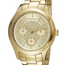 Esprit 36mm Quarz neu Gold