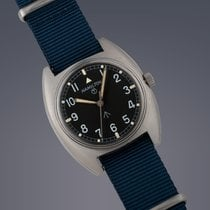 해밀턴 (Hamilton) W10 Military stainless steel manual watch