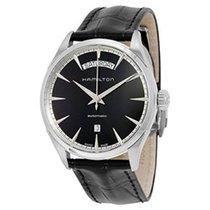 Hamilton Jazzmaster Day Date Leather Strap Men's Watch...