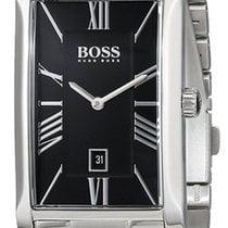 Hugo Boss Admiral Stainless Steel Mens Watch Black Dial...