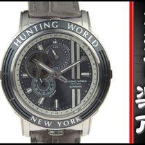 Hunting World Additional Time Men's Automa Hw993 Gray Dial