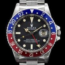 "Rolex 16750 GMT Master Transitional ""Pepsi Bezel"" Matte Dial..."