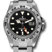 Rolex Explorer II Steel 42mm Black No numerals United States of America, New York, New York